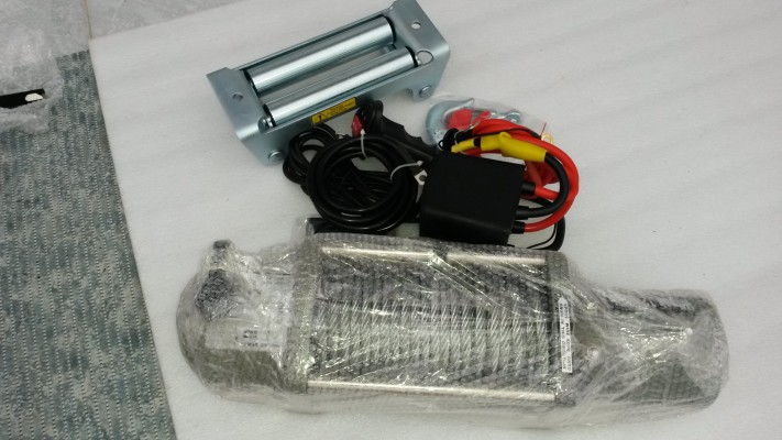 Elektrický lanový naviják 12 000 lbs (5,44 t)