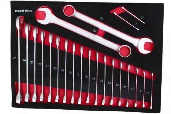 Vidlicové klíče 22 ks