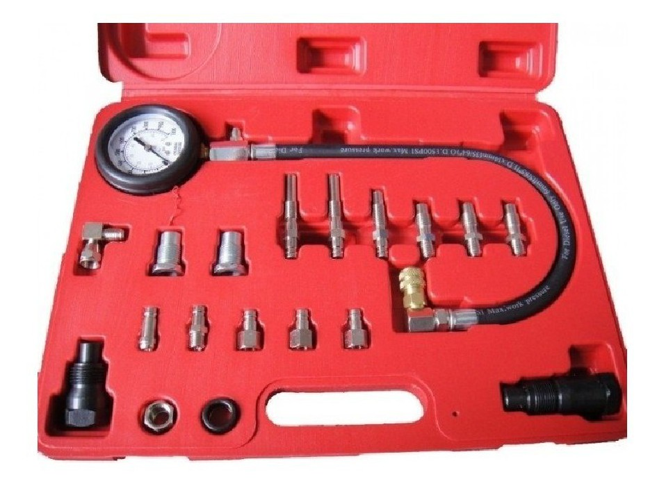 Manometr kompresního tlaku diesel